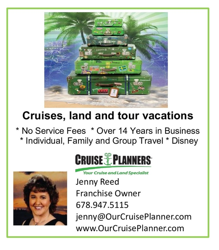 Cruise Planner, Jenny Reed